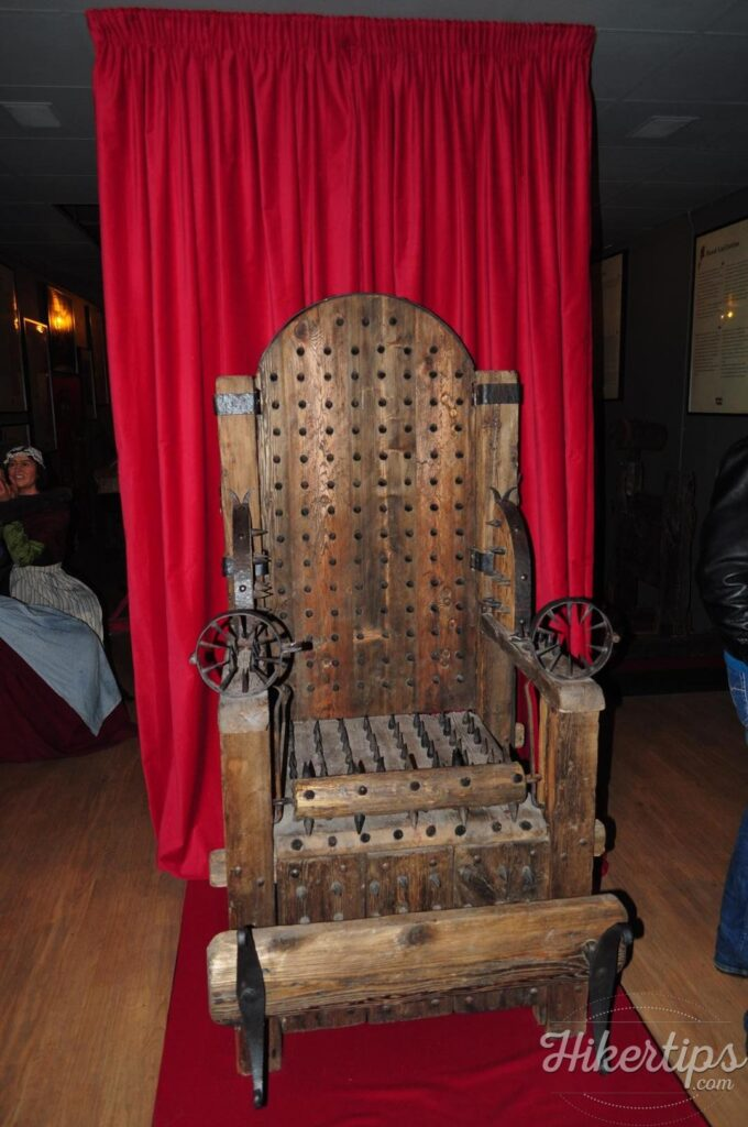The Museum of Medieval Torture Instruments in Amsterdam