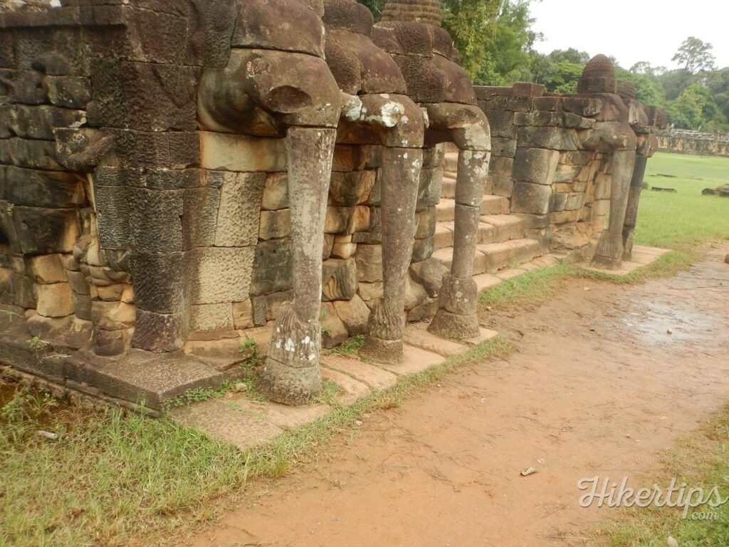 The Terrace of The Elephants,Angkor