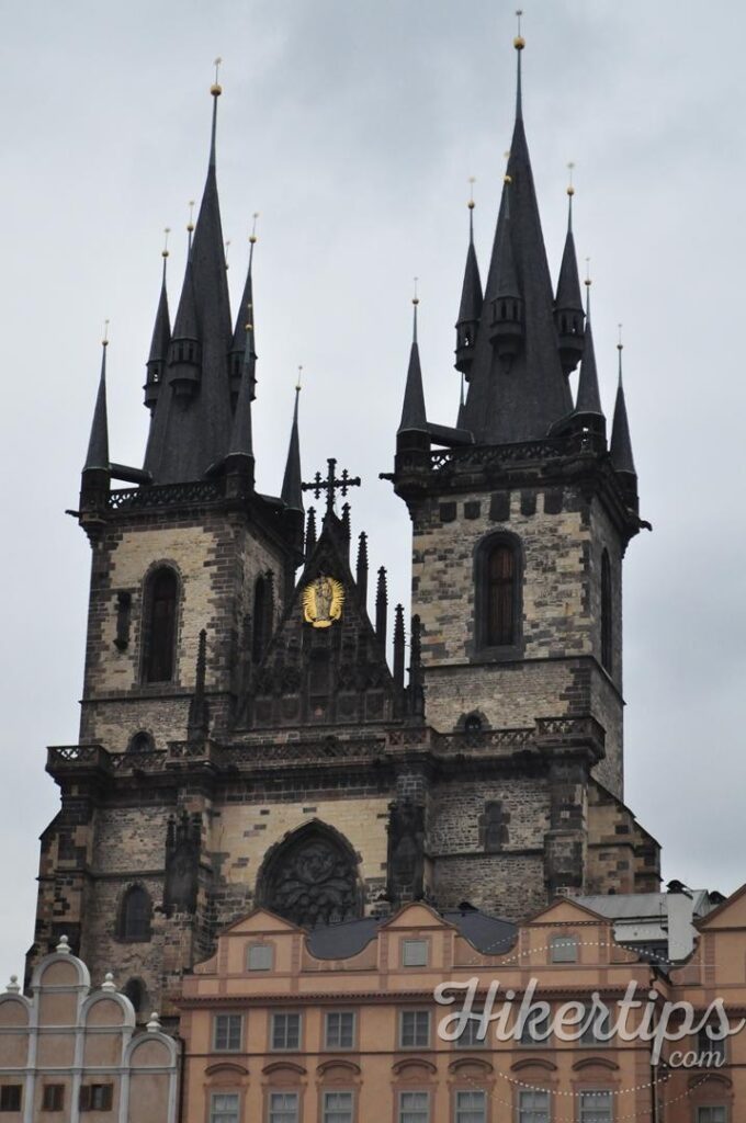 The Church of Our Lady Before Tyn,Prague