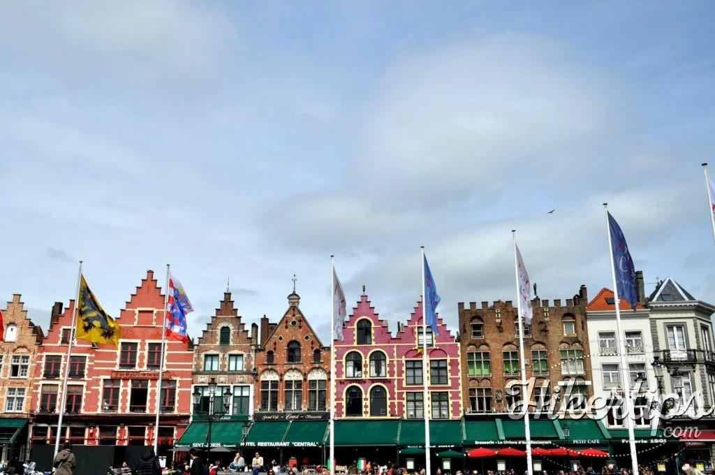 Hanseatic Houses,Bruges