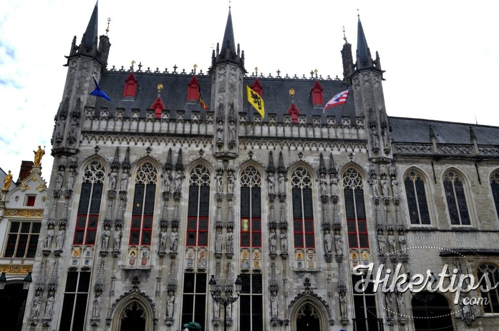 The Town Hall,Bruges