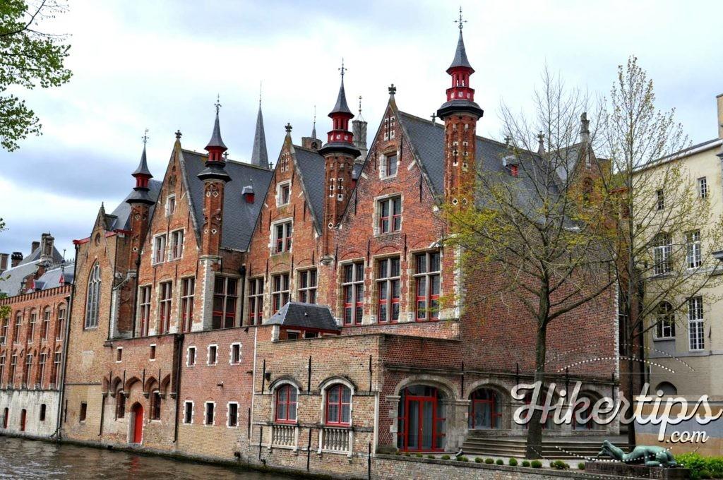 Dijver Houses,Bruges