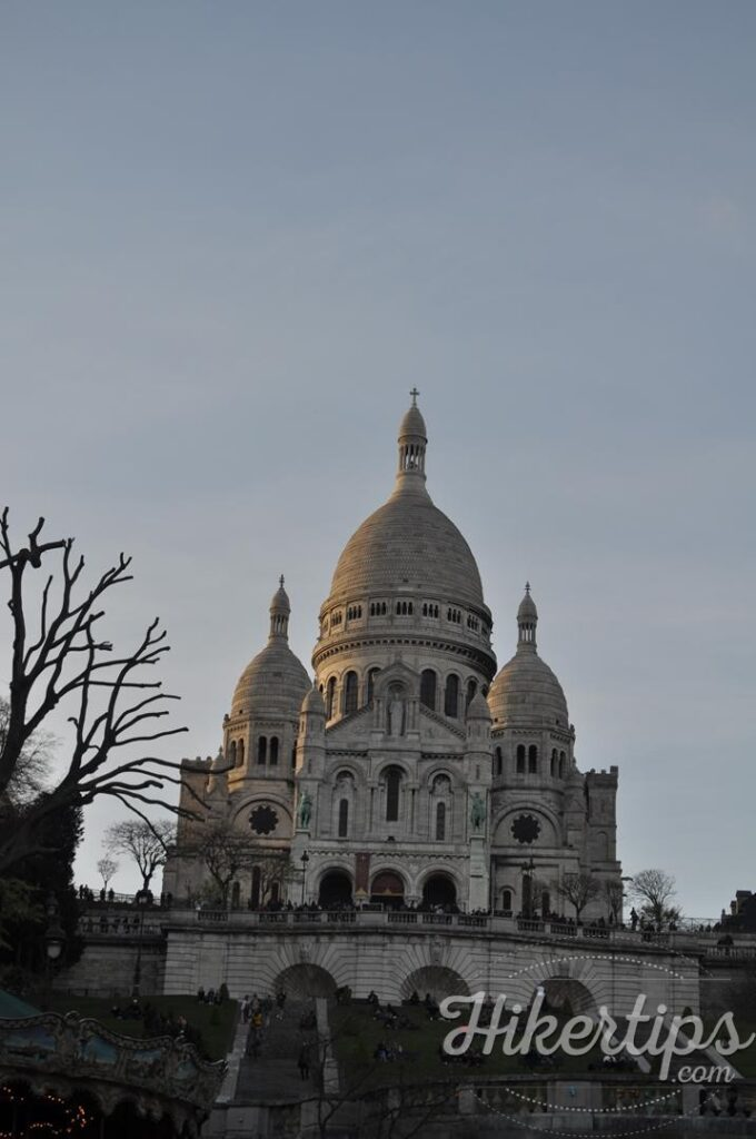 The Sacre-Coeur Basilica,Paris