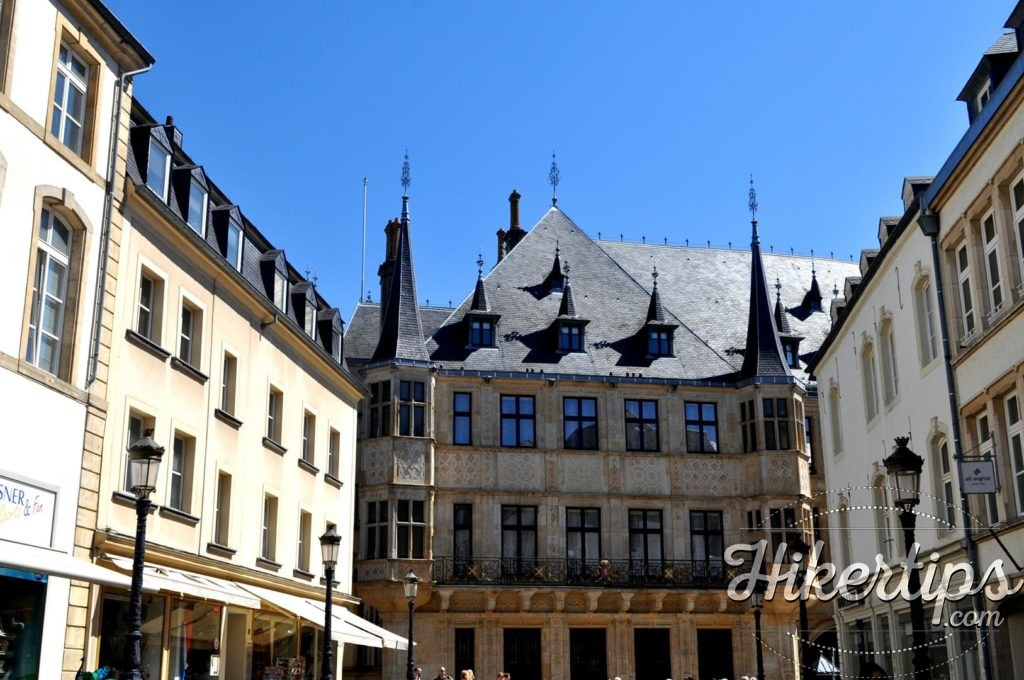 The Grand Ducal Palace,Luxembourg