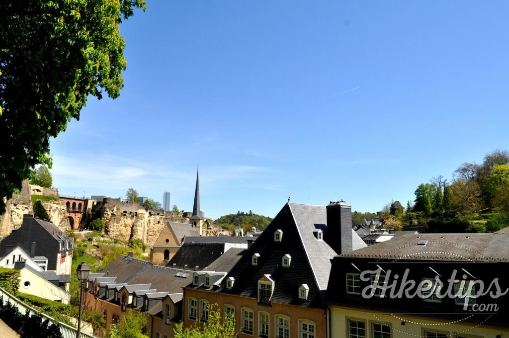 The Petrusse Valley,Luxembourg