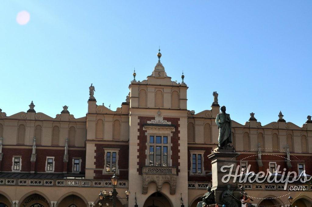 The Cloth Hall&Adam Mickiewicz's Monument