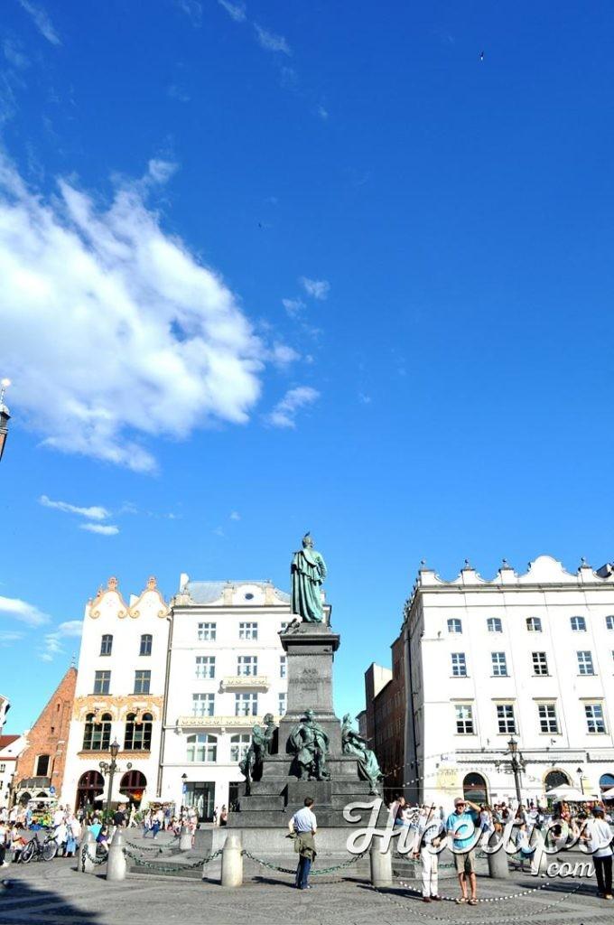 The ClAdam Mickiewicz's Monument