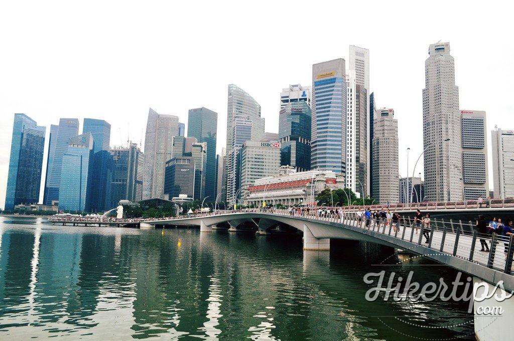 Jubilee Bridge,Singapore